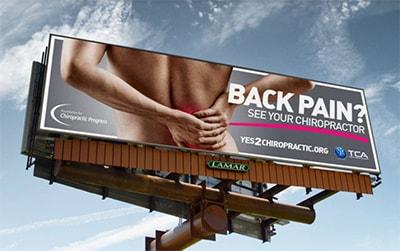 Back Pain Billboard