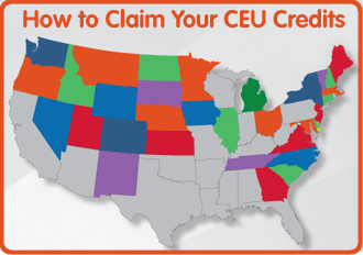 How to Claim Your CEU Credits
