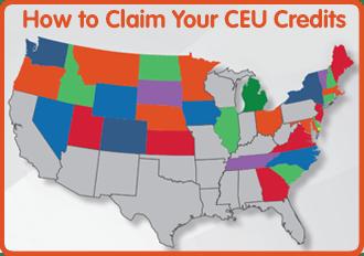 How to Claim Your CEU Credits